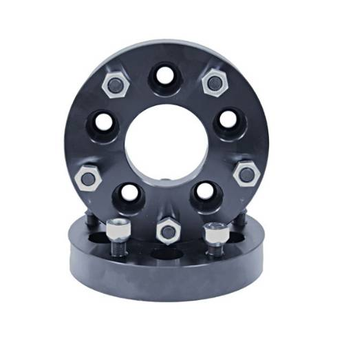 "Fat Bob's Garage, Rugged Ridge, Part #15201.07, 1.375"" Wheel Spacer Adaptor Pair 5 on 5 to 5 on 5.5"" MAIN"