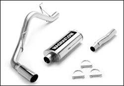 Ford F150 Stainless Cat Back Exhaust System 2004-2008 THUMBNAIL