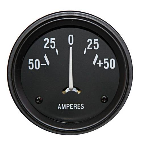 Fat Bob's Garage, OMIX-ADA Part #17210.01, Gauge Ammeter MAIN