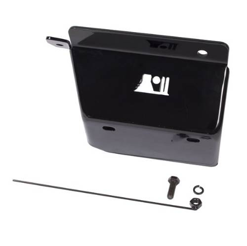 Fat Bob's Garage, Rugged Ridge, Part #18003.12, Jeep TJ Wrangler Steering Box Skid Plate 1997-2006 MAIN