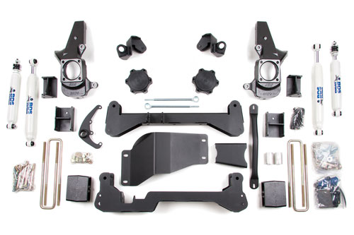 "Fat Bob's Garage, BDS Part #192h, Chevrolet/GMC 4.5"" Front 3"" Rear Suspension System 2001-2010 MAIN"