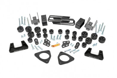 "Fat Bob's Garage, Rough Country part #211, Chevrolet/GMC Silverado/Sierra 1500 3.75"" Combo Lift Kit 2007-2013 MAIN"