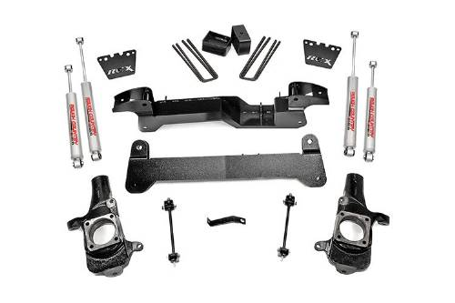 "Fat Bob's Garage, Rough Country part #220.20, Chevrolet/GMC 1500HD/2500HD 6"" Suspension Lift Kit 2001-2010 MAIN"