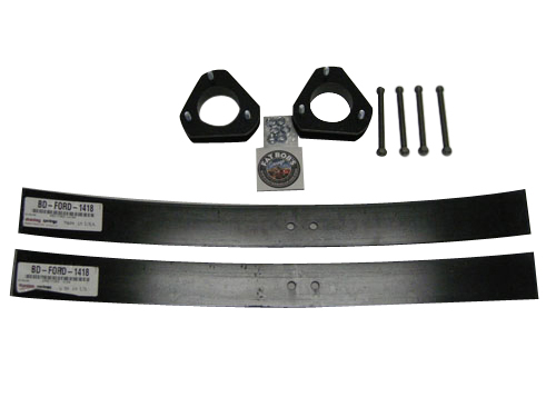 "Fat Bob's Garage, Part # 22300-AAL-22, Ford F150 3"" Front 2"" Rear Lift Kit 2004-2016"