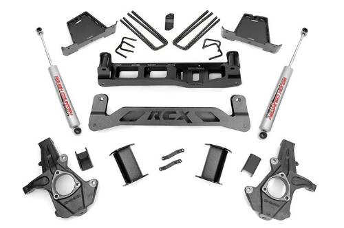 "Chevrolet/GMC Silverado/Sierra 1500 7"" Suspension Lift Kit 2WD 2014-2018 MAIN"