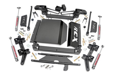 "Fat Bob's Garage, Rough Country Part #274.2, Chevy 1500 Pickup/Tahoe/Suburban 4"" Suspension Lift Kit 4WD 1988-1999"