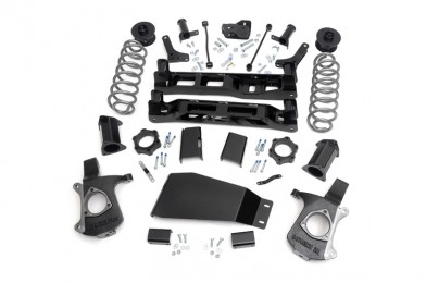 "Rough Countr part 281, Chevrolet/GMC Tahoe/Yukon 7.5"" Suspension Lift Kit 2007-2013 MAIN"