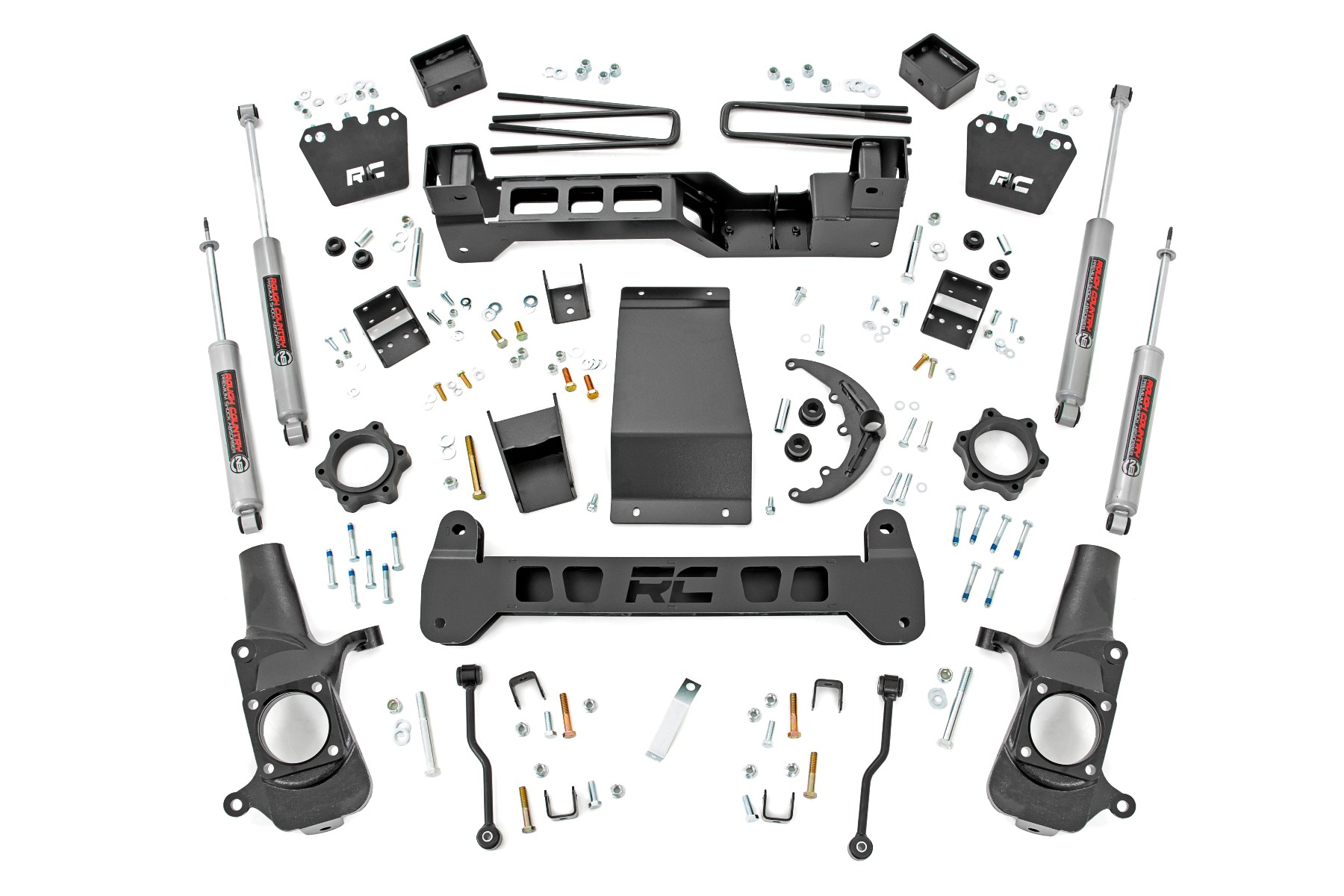 "Fat Bob's Garage, Rough Country Part #297N2, Chevrolet/GMC 2500 HD 6"" Suspension Lift Kit 4WD 2001-2010 THUMBNAIL"