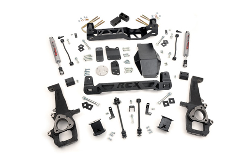 "Dodge 1500 4"" Suspension Lift Kit 4WD 2006-2008 MAIN"