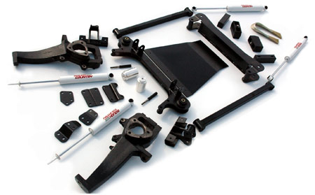 "Fat Bob's Garage, Rough Country Part #380.2, Dodge Ram 1500 4-5"" Suspension Lift Kit 4WD 2002-2005"