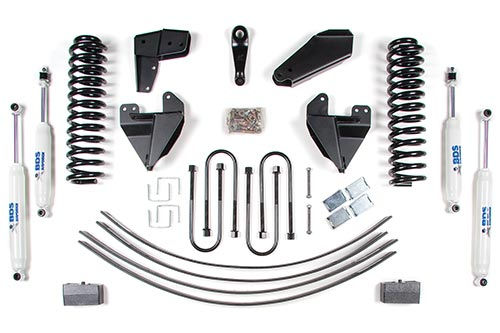 "Fat Bob's Garage, BDS Part #398H, Ford F150 4"" Front 2"" Rear Suspension System 2WD 1980-1996 LARGE"