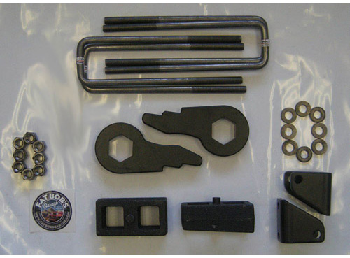 "Fat Bob's Garage, Part # 405030, Chevrolet 3"" Lift Kit with 1"" lift blocks 2000-2010 8-lug NON-DUALLY MAIN"