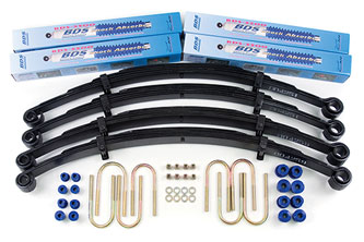"Fat Bob's Garage, BDS Part #405H, Jeep CJ5/CJ7/Scrambler 2.5"" Lift Kit 1976-1986 MAIN"