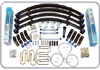 "Jeep Wrangler YJ 4.5"" Front 4.5"" Rear Lift Kit 1987-1995 THUMBNAIL"