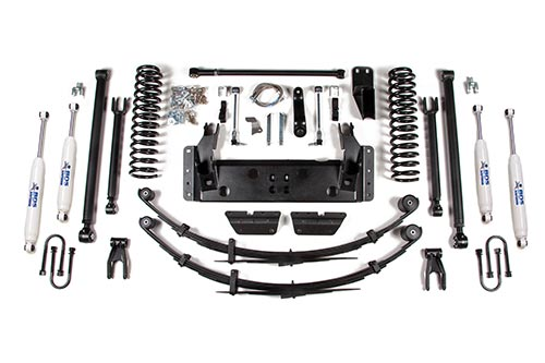 "Fat Bob's Garage, BDS Part #1433H, Jeep XJ Cherokee 6.5"" Long Arm System 1987-2001 MAIN"