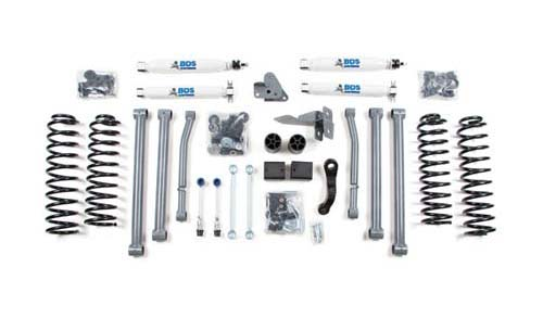 "Jeep Wrangler JK Rubicon 4-Door 4WD 4.5"" Suspension Lift Kit 2007-2011 LARGE"