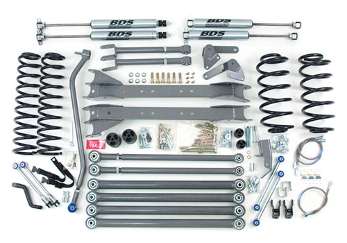 "Fat Bob's Garage, BDS Part #477H, Jeep Wrangler  TJ 4.5"" Long Arm Lift Kit 1997-2006"