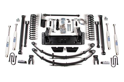 "Fat Bob's Garage, BDS Part #1434H, Jeep XJ Cherokee 8.5"" Long Arm System 1984-2001 MAIN"
