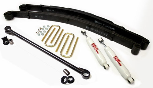 "Fat Bob's Garage, Rough Country Part #489.2, Ford F250/F350 Super Duty 2.5"" Leveling Lift Kit 4WD 2000-2004 LARGE"