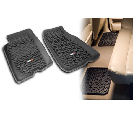 Fat Bob's Garage, Rugged Ridge, Part #82987.41, Dodge Ram Pickup All Terrain Front/Rear Floor Liner Kit 2002-2011 THUMBNAIL
