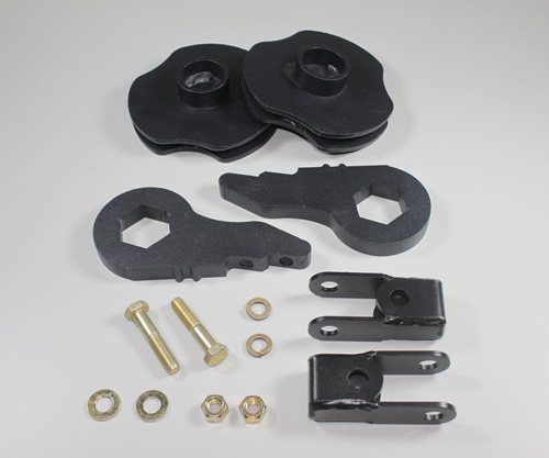 "Fat Bob's Garage, Part # 5056-EXT6L-50125RS, GMC Yukon 1.5-3"" front 1.25"" Rear Lift Kit 4WD 2000-2006_MAIN"