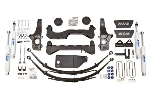 "Fat Bob's Garage, BDS Part #513H, Ford F150 6"" Front 5.5"" Rear Suspension System 4WD 1997-2003 LARGE"