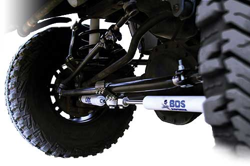 "Fat Bob's Garage, BDS Part #55403, Dodge 1500HD Stabilizer Cylinder, boot ordered sep. 5500 Series for 6"" Lift 2006-2009"