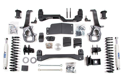 "Fat Bob's Garage, BDS Part #622H, Dodge Ram 1500 6"" Front 5"" Rear Suspension Lift Kit 2009-2011 MAIN"