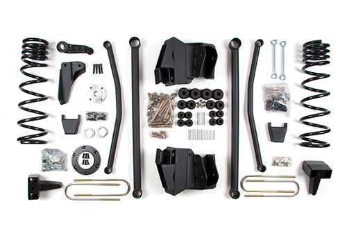 "Fat Bob's Garage, BDS Part #632h, Dodge 2500/3500 Diesel 8"" Front 5"" Rear Lift Kit 4WD 2009-2013 MAIN"