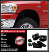 "Fat Bob's Garage, Ready Lift Part #66-1020, Dodge Ram 1500 2.5"" Front Leveling Kit 4WD 2006-2012_THUMBNAIL"