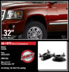 "Fat Bob's Garage, Ready Lift Part #66-1070, Dodge Dakota 2"" Front Leveling Kit 2WD 2005-2011_THUMBNAIL"
