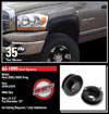 "Fat Bob's Garage, Ready Lift Part #66-1090, Dodge Ram 2500/3500 2"" Front Leveling Kit 4WD 1994-2009 (8-lug)_THUMBNAIL"