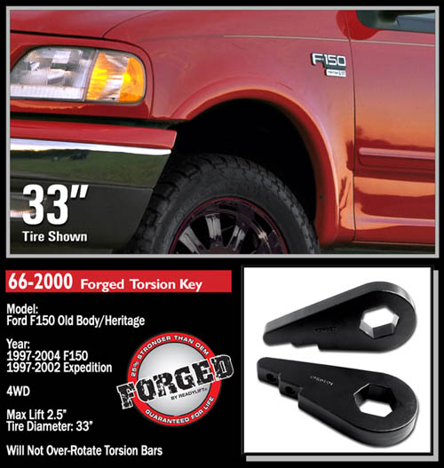 ford f150 heritage expedition 2 5 front leveling kit 4wd 1997 2000 fat bob s garage online store