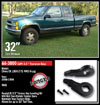 "Fat Bob's Garage, Ready Lift Part #66-3000, Chevy C/K 1500 Z-71 2.5"" Front Leveling Kit 4WD 1988-1998 (6-lug) THUMBNAIL"