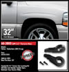 "Fat Bob's Garage, Ready Lift Part #66-3000, Chevrolet Suburban/Tahoe 1500 2.5"" Leveling Kit 4WD/2WD 2000-2006 6-lug THUMBNAIL"