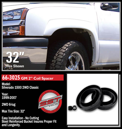 """Chevrolet Silverado 1500 Classic 2"""" Front Leveling Kit 2WD ..."""