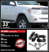 "Fat Bob's Garage, Ready Lift Part #66-5000, Toyota Tundra 3"" Front Leveling Kit 4WD/2WD 1999-2006"