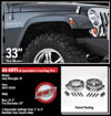 "Fat Bob's Garage, Ready Lift Part #66-6095, Jeep JK Wrangler 2"" Front Leveling Kit 2007-2015 THUMBNAIL"