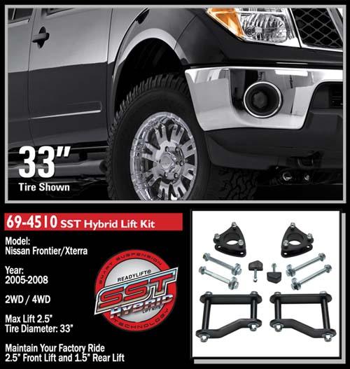 Nissan Frontier Xterra Sst 2 5 Lift Kit 4wd 2wd 2005 2015