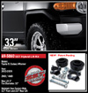 "Fat Bob's Garage, Ready Lift Part #69-5060, Toyota FJ Cruiser/4Runner 3"" Front 2"" Rear SST Lift Kit 2003-2016"