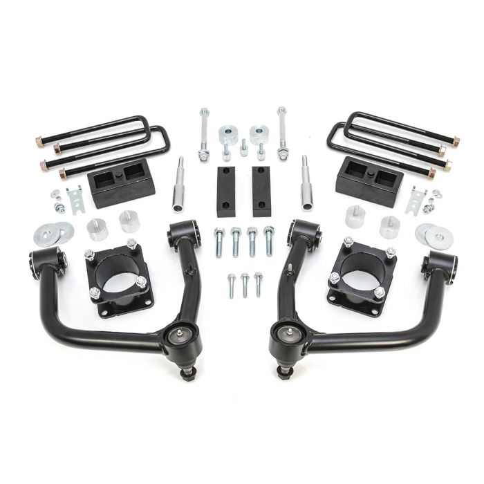 "ReadyLift 4"" Front 2"" Rear Lift Kit for Toyota Tundra 2007-2020 THUMBNAIL"