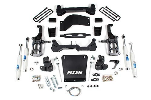 "Chevrolet/GMC 2500HD/3500HD 4.5"" Suspension Lift Kits 4WD 2011-2019 MAIN"