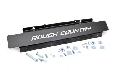 Fat Bob's Garage, Rough Country part #778, Jeep Wrangler Front Skid Plate 2WD/4WD 2007-2015 MAIN