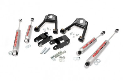 "Fat Bob's Garage, Rough Country part #805N2, Nissan D21 Pickup 1.5-2"" Suspension Lift Kit 1986.5-1997 MAIN"