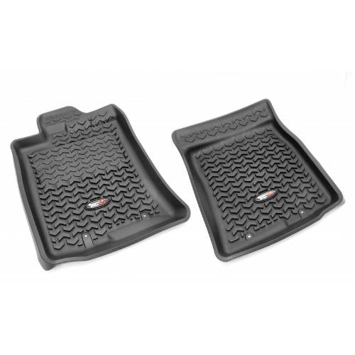 Fat Bob's Garage, Rugged Ridge, Part #82904.30, All Terrain Front Floor Liners Tread Lightly 07-14 Toyota Fj Cruisers MAIN