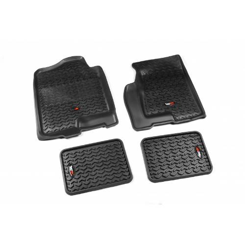 Fat Bob's Garage, Rugged Ridge, Part #82987.02, All Terrain Floor Liner Kit 99-06 Chevy GMC Pickup/Suv MAIN