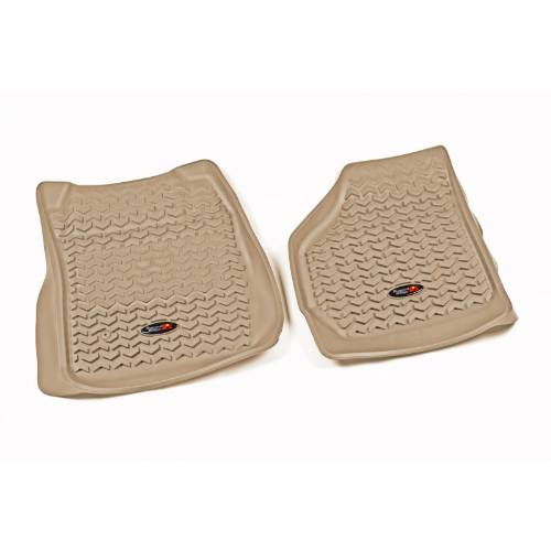 Ford F 350 Super Duty Carpet Replacement 99 07: Front Floor Liners Tan Tread Lightly 1999-2007 D F250/F350