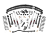 "Jeep Cherokee XJ 6.5"" Suspension Lift Kit 1984-2001 THUMBNAIL"