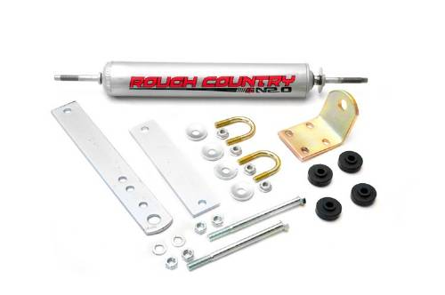 Fat Bob's Garage, Rough Country Part #87348.20, Ford F150 Steering Stabilizer 1997-2003 MAIN