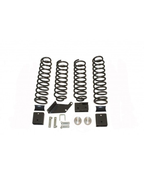 "Fat Bob's Garage, MaxTrac part #889730, Jeep Wrangler 3"" Coil Lift Kit 2WD/4WD 2007-2014 MAIN"